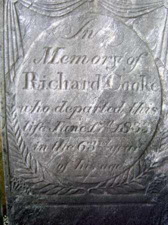 COOKE, RICHARD - Schenectady County, New York | RICHARD COOKE - New York Gravestone Photos