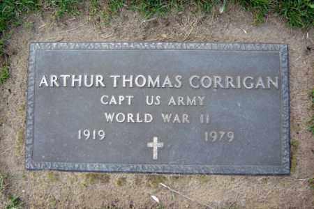 CORRIGAN (WWII), ARTHUR THOMAS - Schenectady County, New York | ARTHUR THOMAS CORRIGAN (WWII) - New York Gravestone Photos