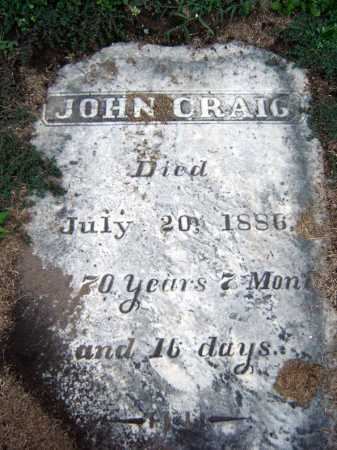 CRAIG, JOHN - Schenectady County, New York | JOHN CRAIG - New York Gravestone Photos