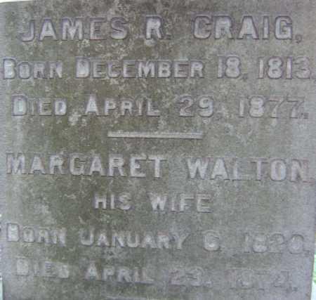CRAIG, MARGARET - Schenectady County, New York | MARGARET CRAIG - New York Gravestone Photos