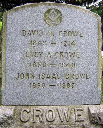 CROWE, LUCY A - Schenectady County, New York | LUCY A CROWE - New York Gravestone Photos