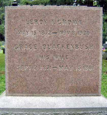 CROWE, LEROY H - Schenectady County, New York | LEROY H CROWE - New York Gravestone Photos