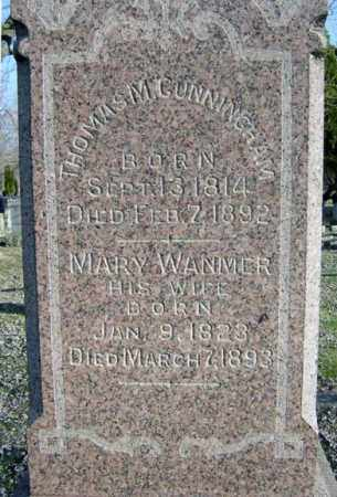 CUNNINGHAM, MARY - Schenectady County, New York | MARY CUNNINGHAM - New York Gravestone Photos