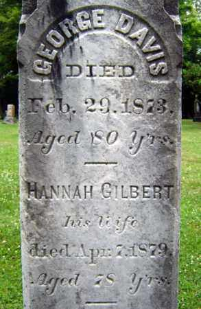 GILBERT, HANNAH - Schenectady County, New York | HANNAH GILBERT - New York Gravestone Photos