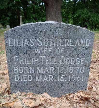 SUTHERLAND, LILIAS - Schenectady County, New York   LILIAS SUTHERLAND - New York Gravestone Photos