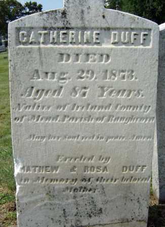 DUFF, CATHERINE - Schenectady County, New York | CATHERINE DUFF - New York Gravestone Photos