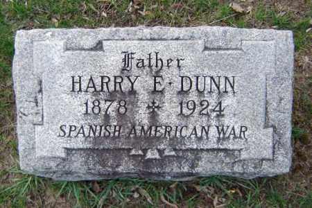 DUNN, HARRY E - Schenectady County, New York | HARRY E DUNN - New York Gravestone Photos