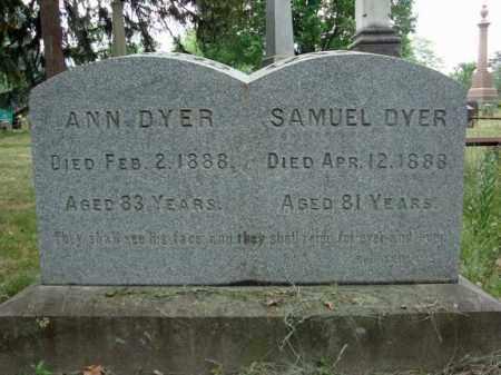 DYER, SAMUEL - Schenectady County, New York   SAMUEL DYER - New York Gravestone Photos