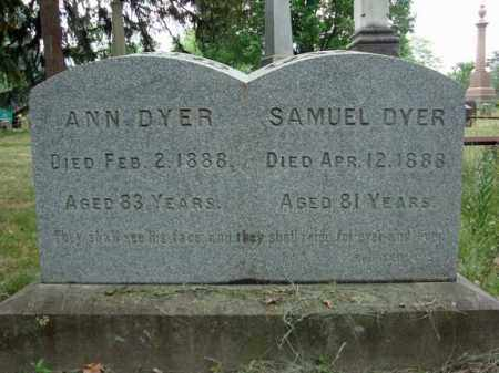DYER, SAMUEL - Schenectady County, New York | SAMUEL DYER - New York Gravestone Photos