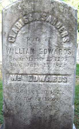 EDWARDS, CLARISSA - Schenectady County, New York | CLARISSA EDWARDS - New York Gravestone Photos