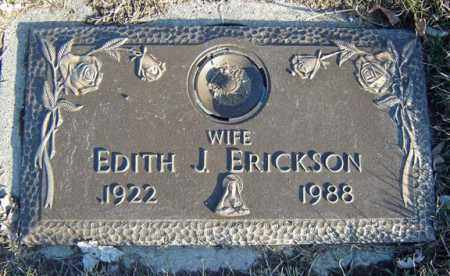 ERICKSON, EDITH J - Schenectady County, New York | EDITH J ERICKSON - New York Gravestone Photos