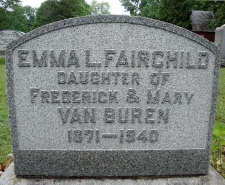 VAN BUREN, EMMA L - Schenectady County, New York | EMMA L VAN BUREN - New York Gravestone Photos