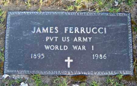 FERRUCCI (WWI), JAMES - Schenectady County, New York   JAMES FERRUCCI (WWI) - New York Gravestone Photos