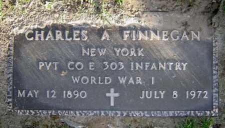 FINNEGAN (WWI), CHARLES A - Schenectady County, New York | CHARLES A FINNEGAN (WWI) - New York Gravestone Photos