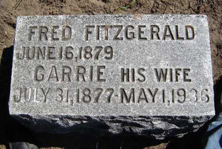 FITZGERALD, CARRIE - Schenectady County, New York | CARRIE FITZGERALD - New York Gravestone Photos