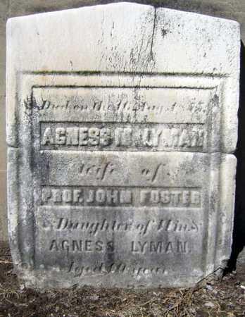 LYMAN, AGNESS M - Schenectady County, New York | AGNESS M LYMAN - New York Gravestone Photos