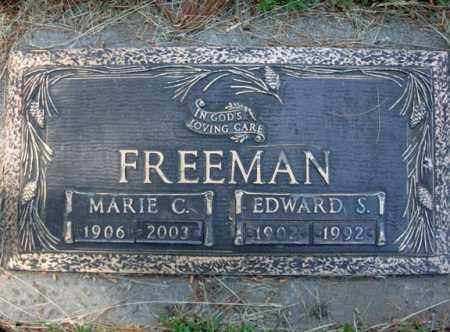 FREEMAN, MARIE C - Schenectady County, New York | MARIE C FREEMAN - New York Gravestone Photos