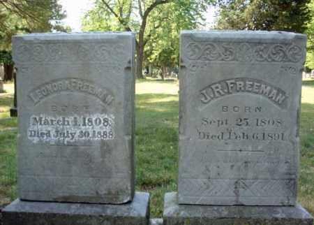 FREEMAN, J R - Schenectady County, New York | J R FREEMAN - New York Gravestone Photos