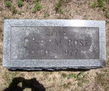 ROST, ETHEL M - Schenectady County, New York | ETHEL M ROST - New York Gravestone Photos