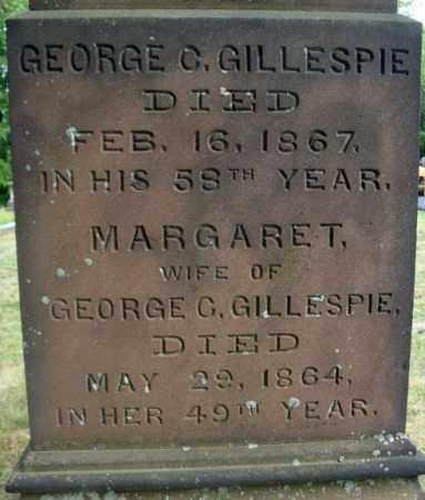 GILLESPIE, GEORGE C - Schenectady County, New York | GEORGE C GILLESPIE - New York Gravestone Photos