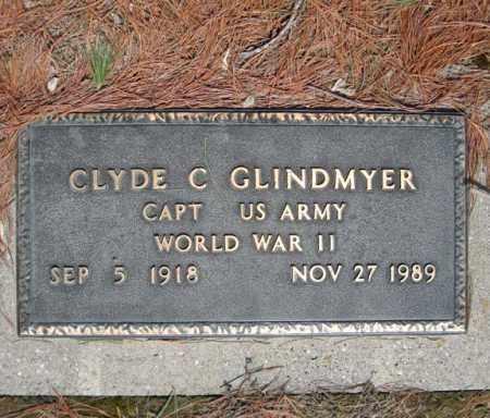 GLINDMYER (WWII), CLYDE C - Schenectady County, New York | CLYDE C GLINDMYER (WWII) - New York Gravestone Photos