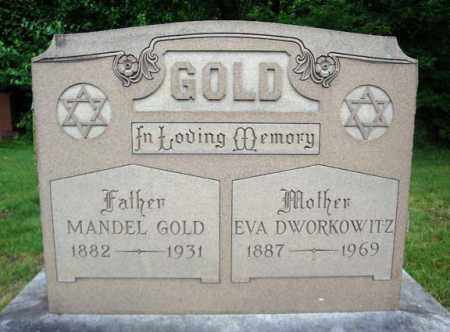 DWORKOWITZ GOLD, EVA - Schenectady County, New York | EVA DWORKOWITZ GOLD - New York Gravestone Photos