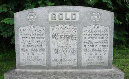 GOLD, NAOMI - Schenectady County, New York | NAOMI GOLD - New York Gravestone Photos