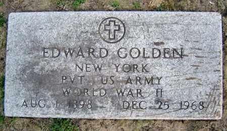 GOLDEN, EDWARD - Schenectady County, New York   EDWARD GOLDEN - New York Gravestone Photos
