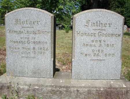 GOODRICH, MATILDA LOUISA - Schenectady County, New York | MATILDA LOUISA GOODRICH - New York Gravestone Photos