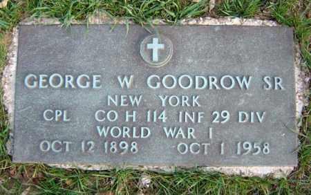 GOODROW, GEORGE W SR - Schenectady County, New York   GEORGE W SR GOODROW - New York Gravestone Photos