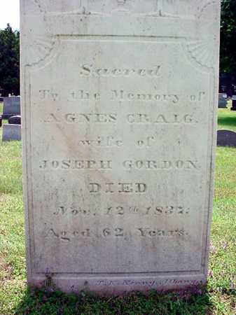 CRAIG, AGNES - Schenectady County, New York   AGNES CRAIG - New York Gravestone Photos