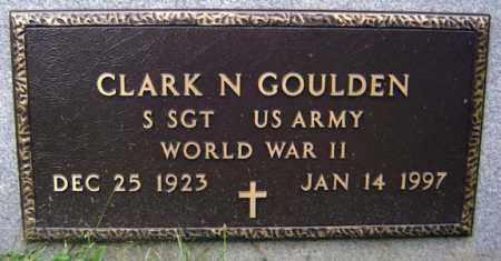 GOULDEN (WWII), CLARK N - Schenectady County, New York | CLARK N GOULDEN (WWII) - New York Gravestone Photos