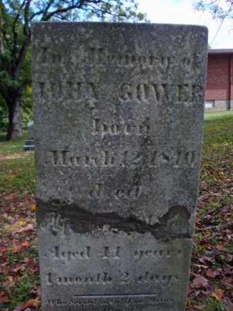 GOWER, JOHN - Schenectady County, New York   JOHN GOWER - New York Gravestone Photos