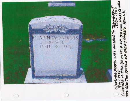 NORRIS GRANT, CLARINDA L. - Schenectady County, New York   CLARINDA L. NORRIS GRANT - New York Gravestone Photos