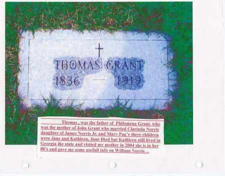GRANT, THOMAS - Schenectady County, New York | THOMAS GRANT - New York Gravestone Photos