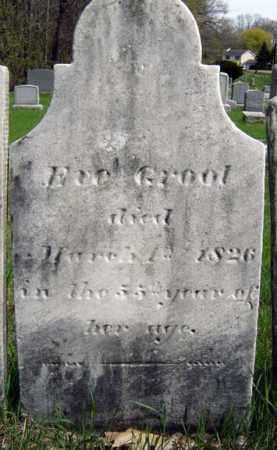 GROOT, EVE - Schenectady County, New York   EVE GROOT - New York Gravestone Photos