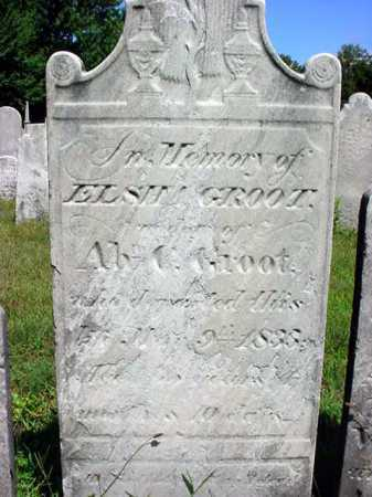 GROOT, ELSHA - Schenectady County, New York | ELSHA GROOT - New York Gravestone Photos