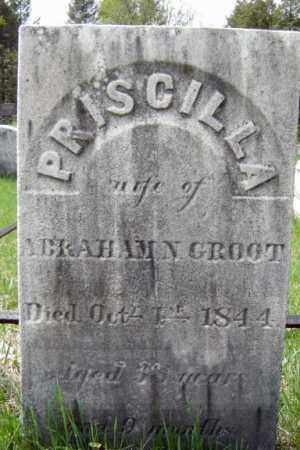 GROOT, PRISCILLA - Schenectady County, New York | PRISCILLA GROOT - New York Gravestone Photos