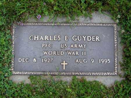 GUYDER, CHARLES E - Schenectady County, New York | CHARLES E GUYDER - New York Gravestone Photos