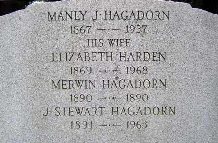 HARDEN, ELIZABETH - Schenectady County, New York | ELIZABETH HARDEN - New York Gravestone Photos