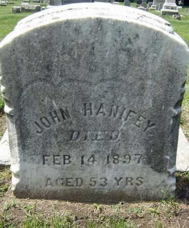 HANIFEY, JOHN - Schenectady County, New York | JOHN HANIFEY - New York Gravestone Photos