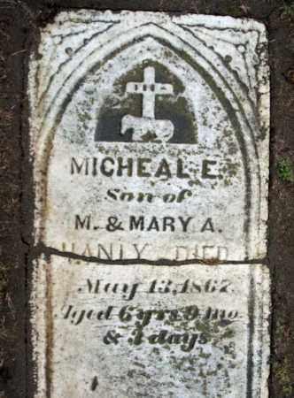 HANLY, MICHAEL E - Schenectady County, New York   MICHAEL E HANLY - New York Gravestone Photos