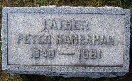 HANRAHAN, PETER - Schenectady County, New York | PETER HANRAHAN - New York Gravestone Photos