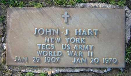 HART (WWII), JOHN J - Schenectady County, New York | JOHN J HART (WWII) - New York Gravestone Photos