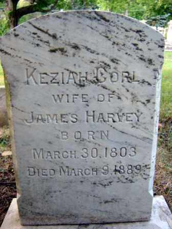 CORL HARVEY, KEZIAH - Schenectady County, New York | KEZIAH CORL HARVEY - New York Gravestone Photos