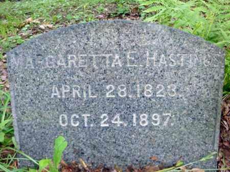 HASTINGS, MARGARETTA E - Schenectady County, New York   MARGARETTA E HASTINGS - New York Gravestone Photos