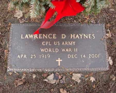 HAYNES, LAWRENCE D - Schenectady County, New York | LAWRENCE D HAYNES - New York Gravestone Photos