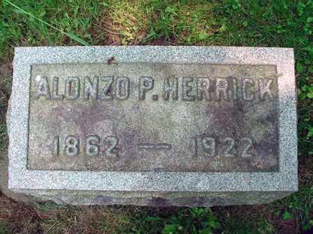 HERRICK, ALONZO P - Schenectady County, New York   ALONZO P HERRICK - New York Gravestone Photos