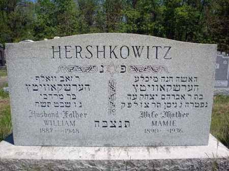 HERSHKOWITZ, MAMIE - Schenectady County, New York | MAMIE HERSHKOWITZ - New York Gravestone Photos