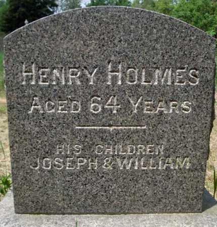 HOLMES, HENRY - Schenectady County, New York | HENRY HOLMES - New York Gravestone Photos